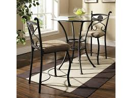 brookfield 3 piece counter table and chair set belfort furniture