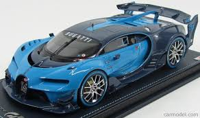 bugatti concept car mr models bug05a scale 1 18 bugatti vision gran turismo w16