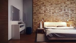 wood paneled walls bedroom modern elegance of natural wood