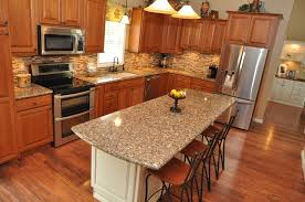 kitchen remodel using showplace cherry wood cabinetry u0026 cambria
