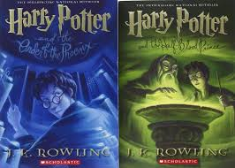 harry potter paperback box books 1 7 english children