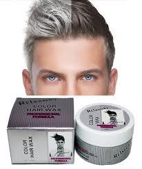 amazon com hair color styler wax 90ml silver ash haircolor wax