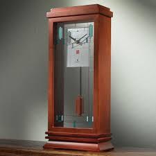 Mantel Clocks The Frank Lloyd Wright Mantel Clock Hammacher Schlemmer