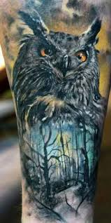 9 best owl and tree tattoos images on tattoos