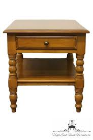 conant ball coffee table high end used furniture conant ball solid maple end table 4023