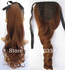 ribbon ponytail fashion ribbon ponytail hair ponytail extensions wavy