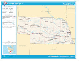 Map Of Nebraska Cities Map Of Nebraska Na 1 U2022 Mapsof Net