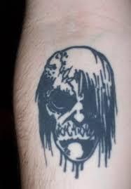 tattoo ideas zombie black zombie tattoo on arm