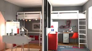 diviser une chambre en deux separer chambre en 2 inspirant separer une grande chambre en deux