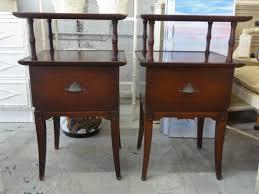 nightstands bamboo nightstand bamboo bedside table wicker