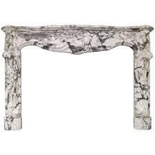 antique louis xv rococo fireplace mantel circa 1870 for sale at