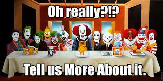 Funny Clown Memes - clowns 3 uploaded by hélio silva on we heart it