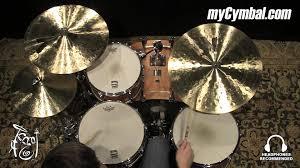 zildjian k light flat ride 20 zildjian 20 k light flat ride cymbal k0818 1042015c youtube