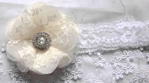 handmade headbands handmade headbands chiffon flower headbands rolled rosette