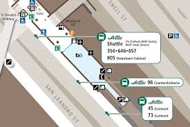 Bart Map Oakland by Bus Stop Changes At Fruitvale And Coliseum Stations Ac Transit