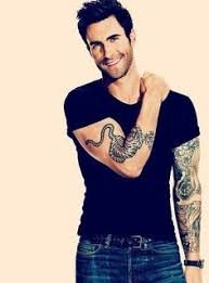 afternoon eye candy adam levine 35 photos adam levine tattoo