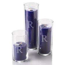 Cylinder Floating Candle Vase Set Of 3 Quick Candles Eastland Glass Cylinder Vase Set Of 3 Ebay
