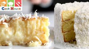 how to make coconut cake homemade coconut cake recipe by cook