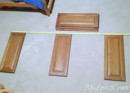 Diy Childrens Desk Repurposed Cabinet Doors Into A Desk