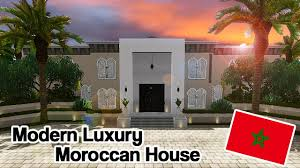 Moroccan Houses by The Sims 3 Modern Luxury Moroccan House Around The World Youtube