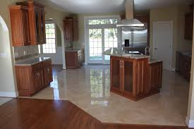 Laminate Tile Flooring Kitchen by Kitchen Flooring Pearwood Laminate Tile Look Floors In Low Gloss