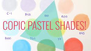 Pastel Colours Pastel Copic Colours Cult Pens Art Haul Good Starter Pastel