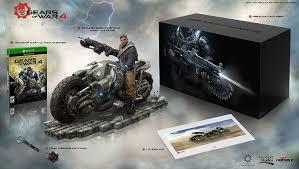 amazon com amazon exclusive gears of war 4 collector u0027s edition