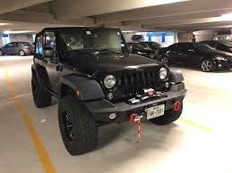 jeep yj winch added a warn elite series bumper and zeon 10s winch on my wife u0027s