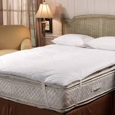 Feather Bed Topper Mattress Pads Feather Bed Protectors And Toppers
