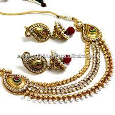 2015 design imitation jewelry indian ethnic jewelry one
