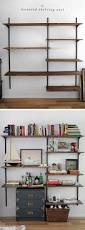 decor rakks shelving book shelving systems brackets shelves