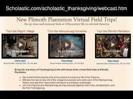 scholastic scholastic thanksgiving webcast htm