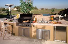 kitchen stunning outdoor kitchen design in terrace as well