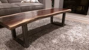 coffee table magnificent live edge end table acrylic coffee