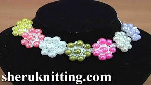 crochet beads necklace pattern images How to crochet cord necklace tutorial 128 jpg