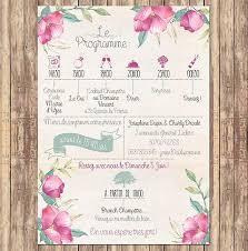 calendrier mariage faire part mariage calendrier fleurs pinteres