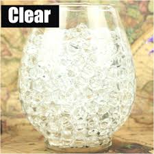 Clear Vases Personalized Glass Photo Vase Glass Bead Vase Filler Clear 2 Cups