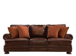 raymour and flanigan leather sofa bernhardt furniture raymour flanigan