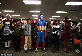 Halloween Costumes Maryland Children Wear Halloween Costumes Immigration Ceremony