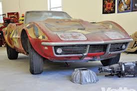 1968 l88 corvette 1968 chevrolet corvette l88 powered c3 roadster barn find
