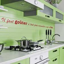 stickers cuisine phrase sticker lettrage pour cuisine en vente sur sticker s studio