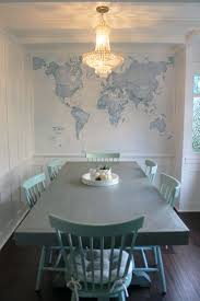 Dining Room Murals Best 25 World Map Wallpaper Ideas On Pinterest World Map Wall