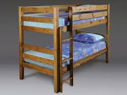 Solid Pine Bunk Beds Heavy Duty Solid Wooden Bunk Bed Reinforced Beds