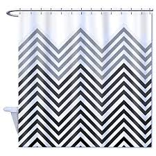 Home Goods Shower Curtain Home Goods Shower Curtain Polyester Black Grey And