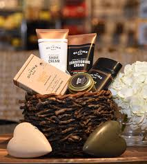 mens gift baskets olivina s for men gift basket goldner walsh garden home