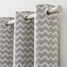 Crate Barrel Curtains Best 25 Grey Chevron Curtains Ideas On Pinterest Black And Grey