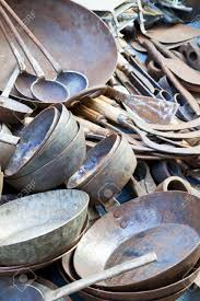 Pots For Sale Image Of Traditional Nepalese Pots And Pans For Sale At
