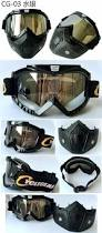 vintage motocross helmet punk style cyclegear brand motorcycle mask goggle dual use