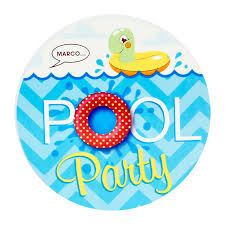 splashin u0027 pool party invitations birthdayexpress com