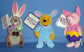 winnie the pooh easter eggs disney store winnie the pooh easter bunny gopher plush 18 00